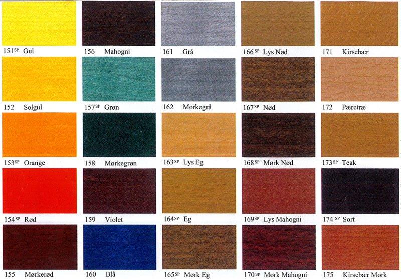 bejdse farver Træbejdsepulver bejdse farver